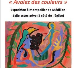 Exposition de peinture du 18 au 25 août 2018